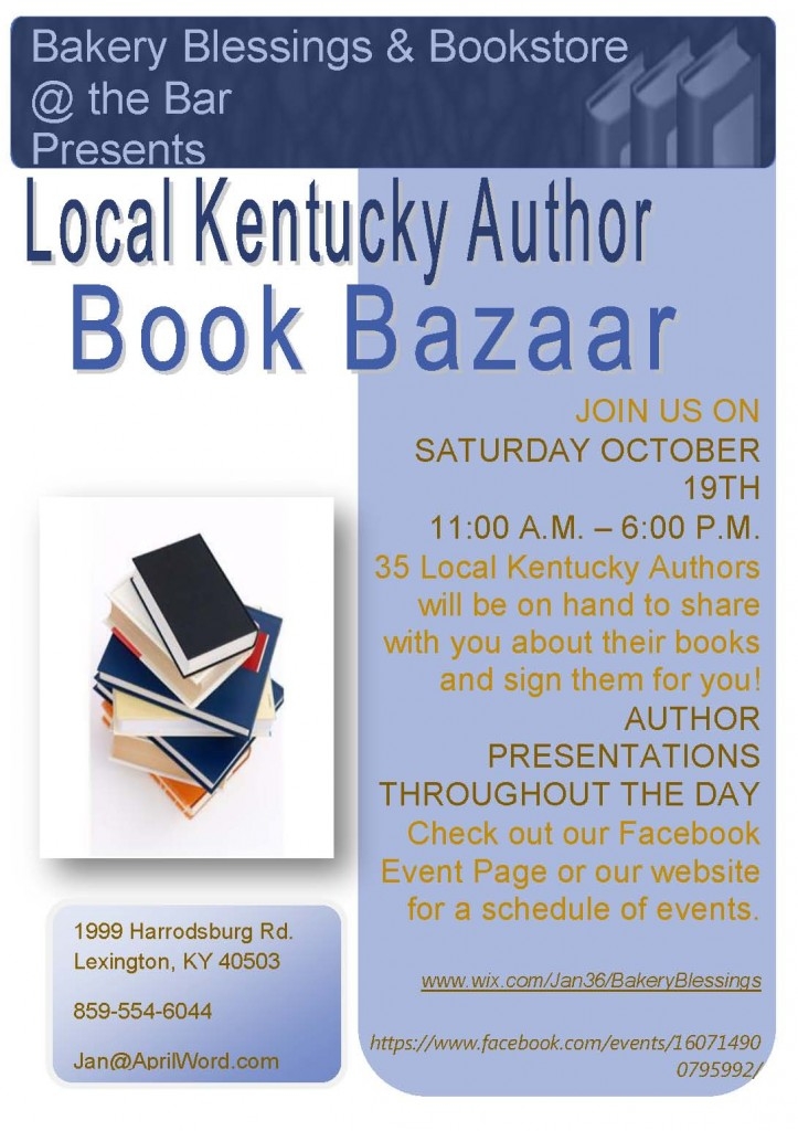 Book Bazaar Flyer