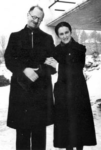 Pastor André Trocmé and his wife Magda